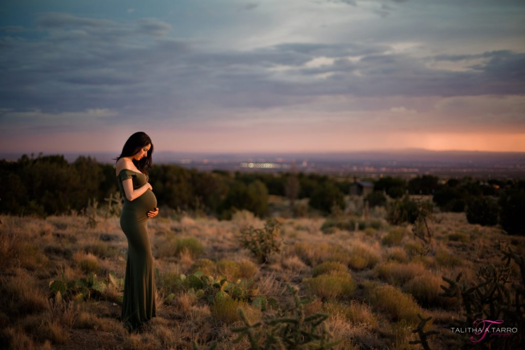 Albuquerque maternity session