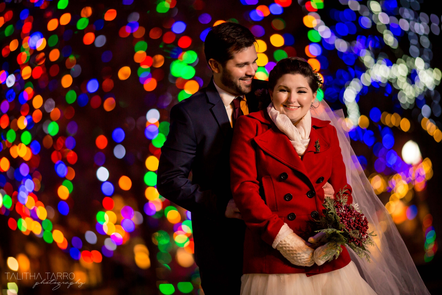 Santa Fe Outdoors Winter Wedding