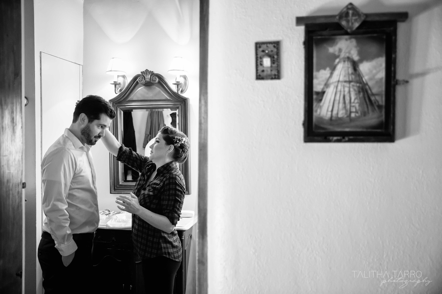 Santa Fe Winter Wedding