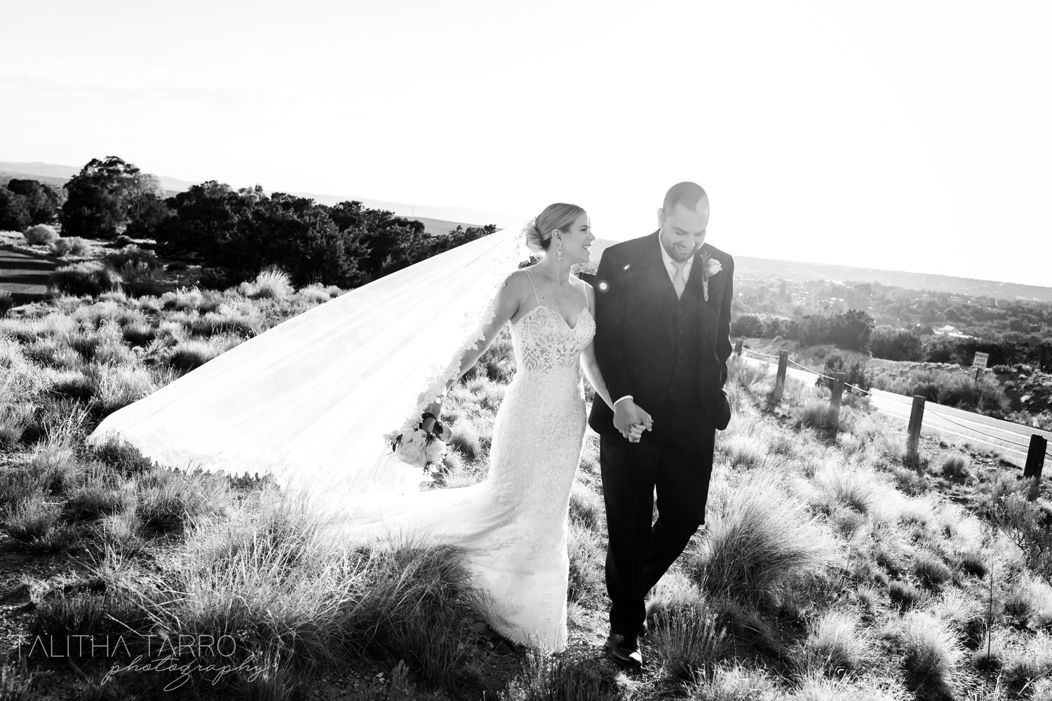 Outdoor Santa Fe Wedding Photography